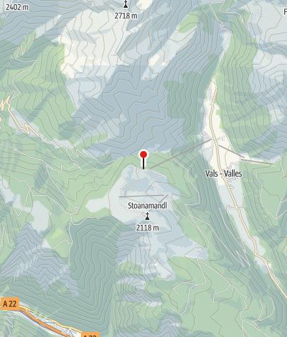 Karte / Ochsenalm