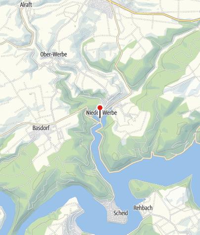 Karte / Flair Hotel Werbetal