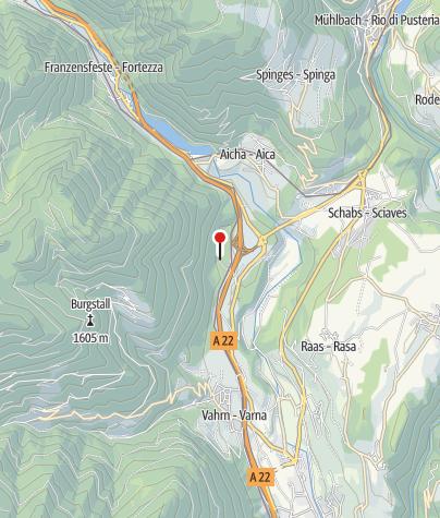 Kaart / Gasthof Zum See
