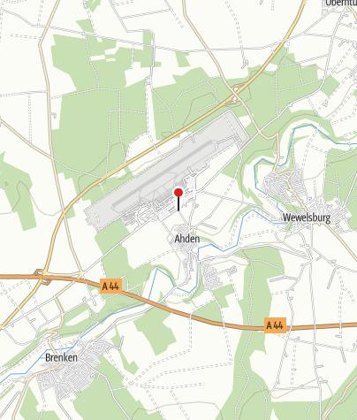 Karte / Airport Hotel Paderborn