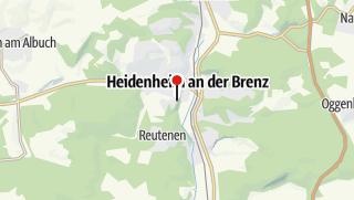 Karte / Schlosshotel Hellenstein ****S