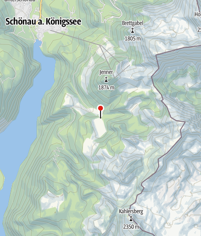 Karte / Branntweinbrennhütte