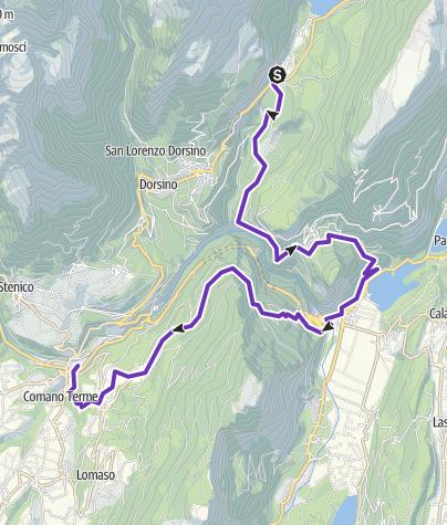 Cartina / Comano Trail - 4° tappa