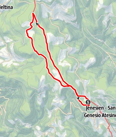 Карта / Erlebnisweg Sagenweg