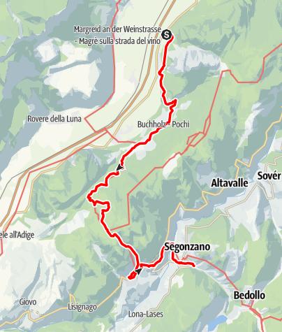 Карта / Von Laag bis Bucholz auf dem Dürerweg