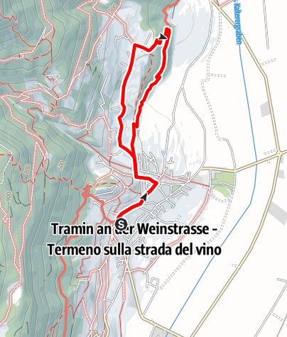 Mapa / Naturerlebnisweg Tramin