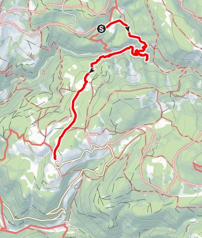 Karte / GEOPARC Bletterbach - Dolomiten UNESCO Welterbe