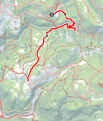 Карта / GEOPARC Bletterbach - Dolomiten UNESCO Welterbe