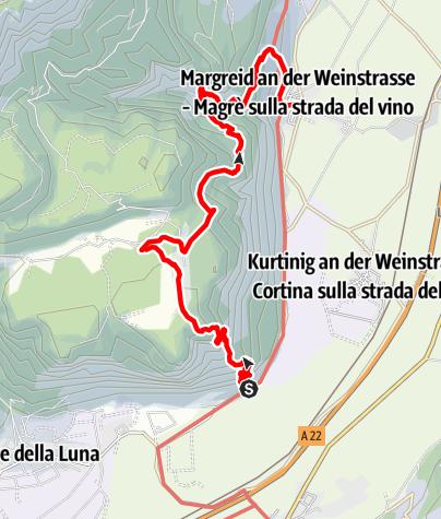 Cartina / Via ferrata Fennberg