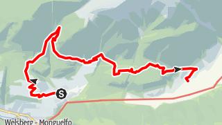 Mapa / Wanderung auf den Lottersteig