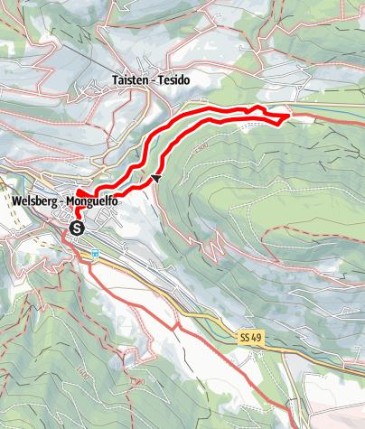 Mapa / Die große Schlossrunde