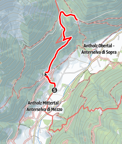 Map / Hiking to the Schwörzalm hut
