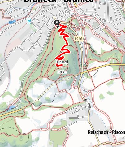 Kaart / Kaiserwarte