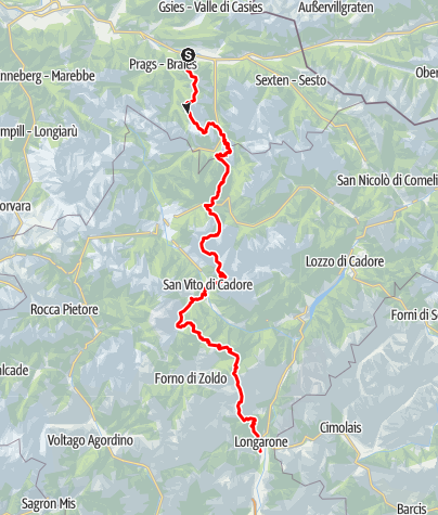 Map / Dolomites Alpine Ridgeway No. 3