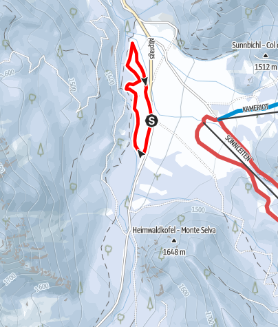 Map / 37 Circle Braies Vecchia/Altprags