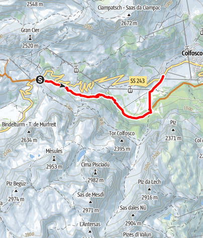 Map / Frara MTB Single Track