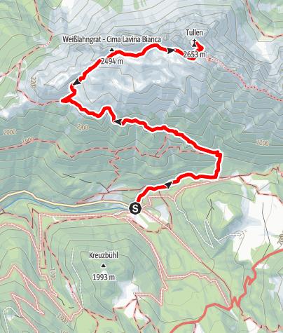 Mapa / Auf den Tullen
