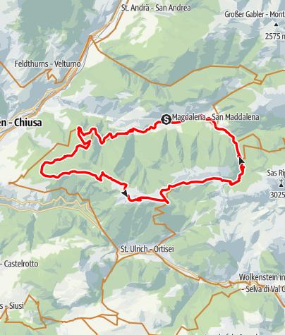 Karte / Raschötz