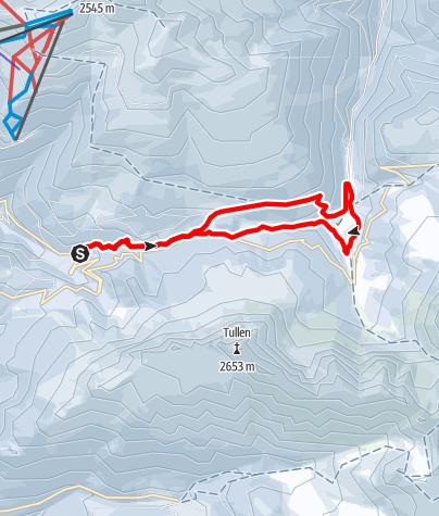 Mappa / Ciaspolata Halsl
