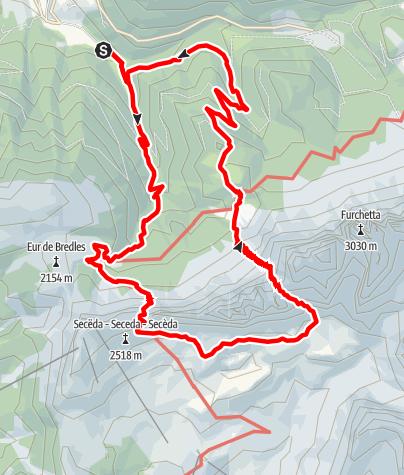 Karte / Kleine Geislerrunde