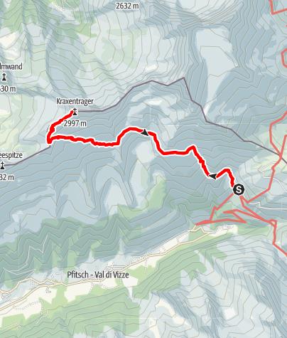 Mappa / La Gerla/Kraxentrager