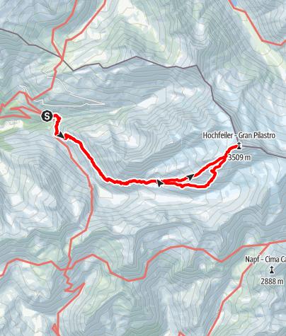 Mappa / Sul Gran Pilastro