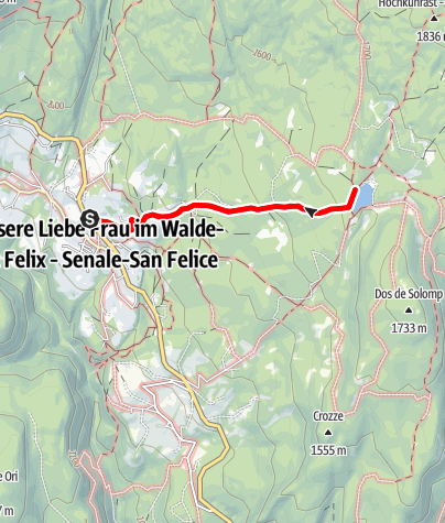 Map / Hiking to the San Felice lake