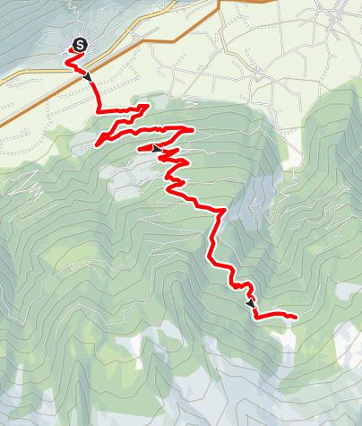 Mapa / Uphill Tablander Alm