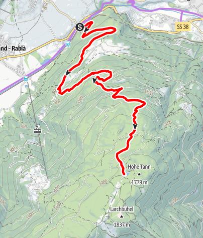 Карта / Stuanbruch-Trail