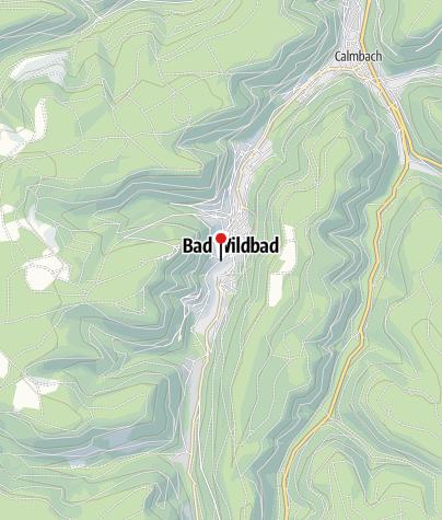 Map / Vital Thermal Spa - Bad Wildbad