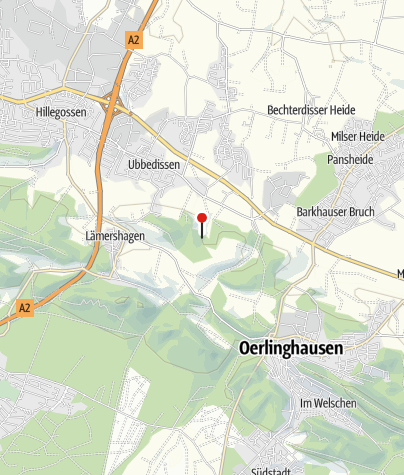 Kaart / Naturfreundehaus Teutoburg