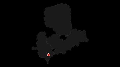 Cartina / Mulderadweg - Zwickauer Mulde