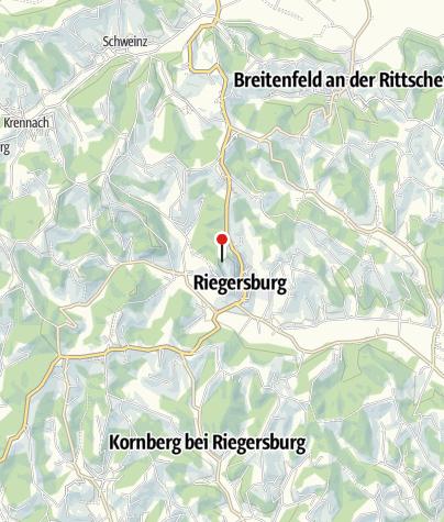 Karte / Burg Riegersburg