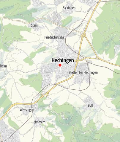 Karte / Weißes Häusle im Fürstengarten
