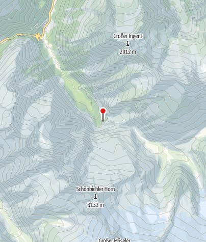 Mapa / Grawandhütte