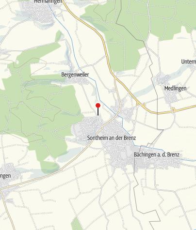 Karte / Bahnhof Sontheim