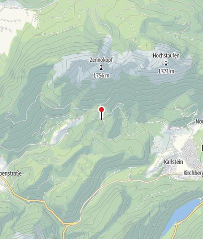 Karte / Jochbergsattel