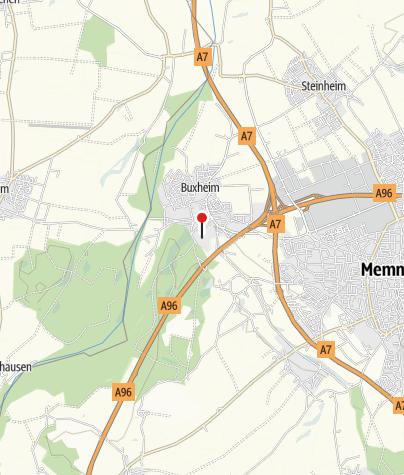 Karte / Eislaufen auf dem Buxheimer Weiher