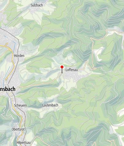 Karte / Loffenau Schönblick