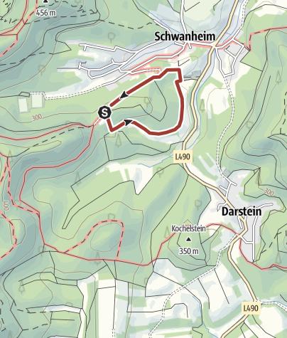 Karte / Kiwi-Weg