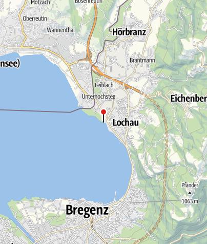 Karte / Spielplatz am Lochauer Hafen