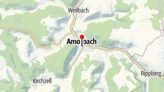 Karte / Abteikirche Amorbach