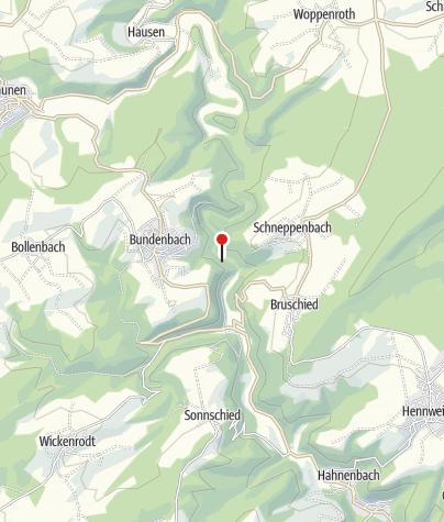Karte / Felsentunnel Bundenbach