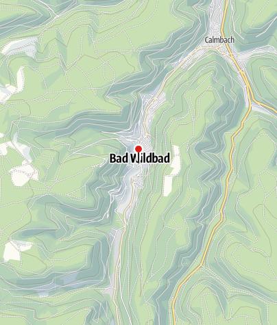 Karte / E-Bike Tankstelle: Touristik Bad Wildbad