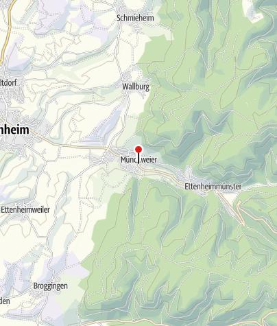 Karte / E-Bike Tankstelle: Metzgereigasthof Rebstock