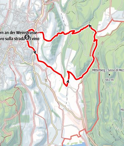 Mapa / Große Frühlingstal-Wanderung