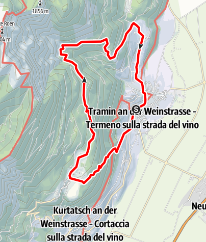 Map / Traminer altitude trail