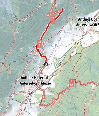 Karte / Familienwanderung zum Klammbach Wasserfall