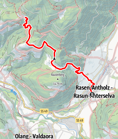 Mappa / Escursione per le Piramidi di Terra