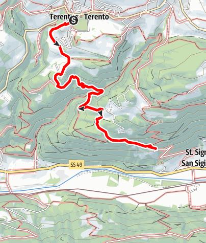 Mapa / Zur Jausenstation Schifferegger